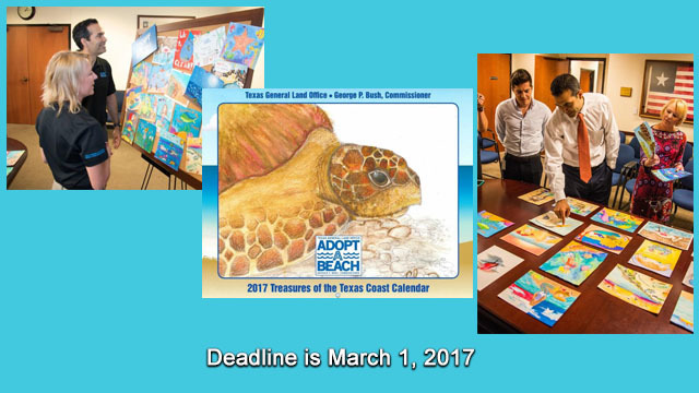 Deadline for Adopt-A-Beach Children's Art Contest is March 1