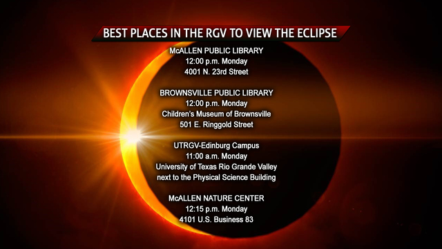 Best Places In The RGV To See Solar Eclipse