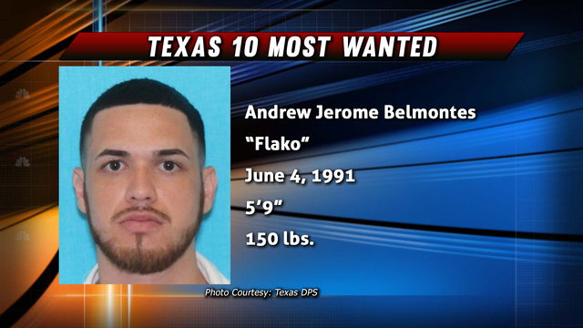 Reward Offered In Texas 10 Most Wanted